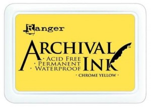 Archival Ink Pad Chrome Yellow
