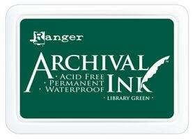 Archival Ink Pad Library Green