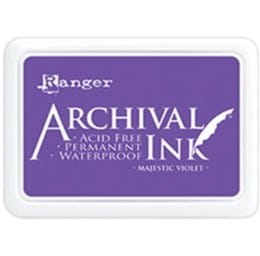 Archival Ink Pad Majestic Violet
