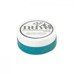 Mus Nuvo Embellishment Mousse NUVO 822N Pacyfic Teal