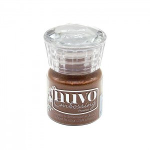 Puder do embossingu NUVO 613N Copper Blush
