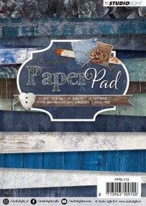 PAPIER SCRAP SL A6 170G A'36ARK PPSL113 Denim Saturdays