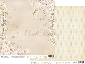 PAPIER SCRAP Craft Passion 30,5*30,5 ROMANTIC DAY 01