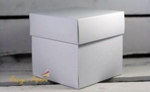 Pudełko Rzeczy z Papieru exploding box Białe