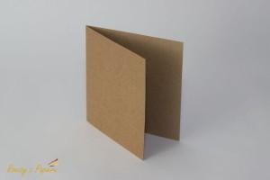 Baza Rzeczy z Papieru do kartki 14x14 Kraft