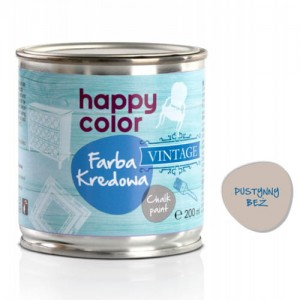 Farba kredowa Happy Color Vintage 200ml Pustynny beż