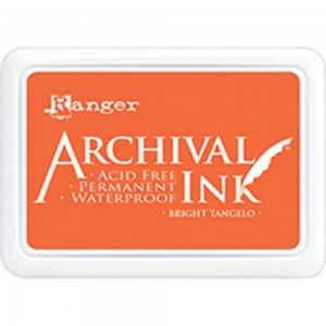 Archival Ink Pad Bright Tangelo
