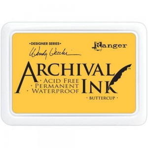 Archival Ink Pad Buttercup