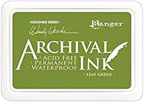 Archival Ink Pad Leaf Green