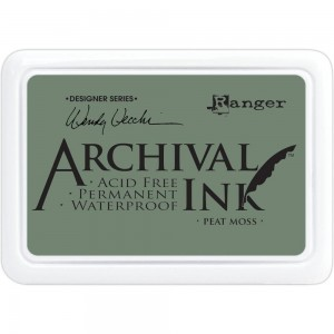Archival Ink Pad Peat Moss