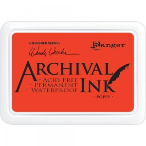 Archival Ink Pad Poppy