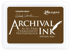 Archival Ink Pad Potting Soil