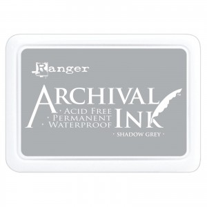 Archival Ink Pad Shadow Grey