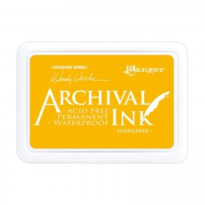 Archival Ink Pad Sunflower