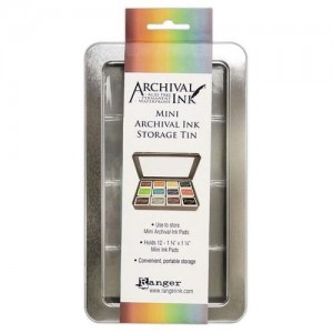 Archival Ink Mini Pad Storage Tin 58434
