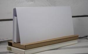 Pudełko Rzeczy z Papieru Czekoladownik 9x19x1,7 Biały