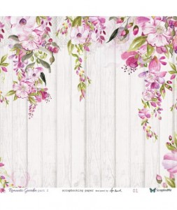 Papier ScrapAndMe 30x30 Romantic Garden part.2 01-02