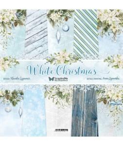 Papier ScrapAndMe 30x30 White Christmas Zestaw