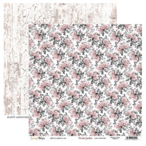 Papier ScrapBoys 30,5x30,5 Dream Garden DRGA-05