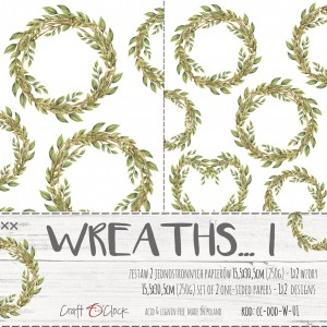 Craft O'Clock Dodatki PREMIUM - Wreaths / Wianki I