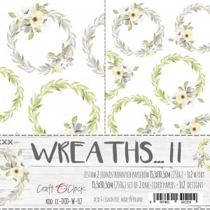 Craft O'Clock Dodatki PREMIUM - Wreaths / Wianki II