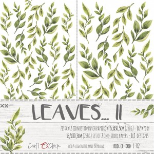 Craft O'Clock Dodatki - Leaves II
