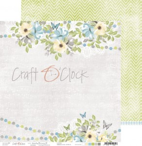 Papier scrap Craft O'Clock 30,5*30,5 Lovely Prince 01