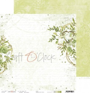 Papier scrap Craft O'Clock 30,5*30,5 Our Story 01