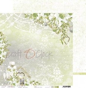 Papier scrap Craft O'Clock 30,5*30,5 Our Story 02