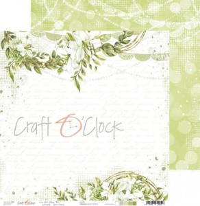 Papier scrap Craft O'Clock 30,5*30,5 Our Story 03