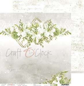 Papier scrap Craft O'Clock 30,5*30,5 Our Story 04