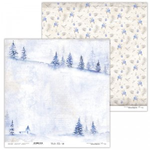 Papier scrap Lexi design 30,5*30,5 Winter Tales 10
