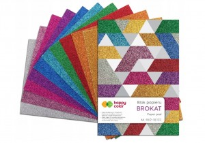BLOK DECO HAPPY COLOR A4 BROKAT a'10kol. 150g