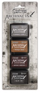 Archival Ink Mini Pad Kit #3 Distress