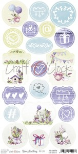 Craft O'Clock Elementy Die-Cuts -  Spring Bustling