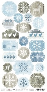 Craft O'Clock Elementy Die-Cuts -  BRR... It's cold out side