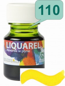 Renesans LIQUAREL Akwarela w płynie 30ml 110 Żółty jasny (Yellow Light)