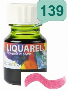 Renesans LIQUAREL Akwarela w płynie 30ml 139 Bordeaux