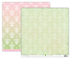 Papier scrap UHK 30,5*30,5 Avonlea Day by Day Summer White Way of Delight