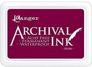 Archival Ink Pad Plum