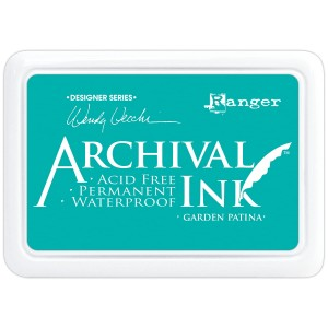 Archival Ink Pad Garden Patina