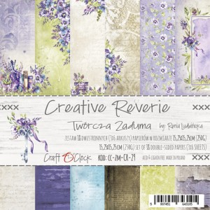 Papier scrap Craft O'Clock 15*15 Creative Reverie Zestaw