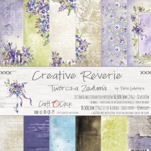 Papier scrap Craft O'Clock 30,5*30,5 Creative Reverie Zestaw