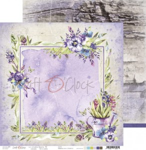 Papier scrap Craft O'Clock 30,5*30,5 Creative Reverie 06