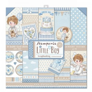 Papier scrap Stamperia 30,5*30,5 170g A'10 SBBL68 Little Boy