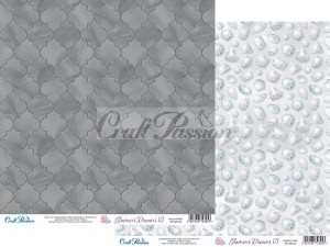 PAPIER SCRAP Craft Passion 30,5*30,5 GLAMOUR DREAMS 03