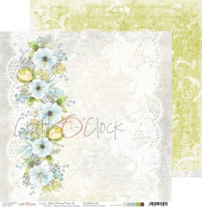 Papier scrap Craft O'Clock 30,5*30,5 Spring Morning Dreams 02