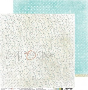 Papier scrap Craft O'Clock 30,5*30,5 Spring Morning Dreams 06