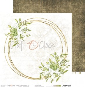 Papier scrap Craft O'Clock 30,5*30,5 Celebrate Moments 06