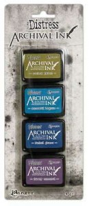 Archival Ink Mini Pad Kit #2 Distress